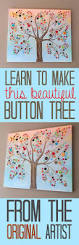 32 diy projects made with buttons diy joy