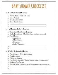 How To Plan Your Backyard Best 25 Baby Shower Checklist Ideas On Pinterest Planning A