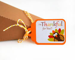 thanksgiving tags i am thankful for you tags thanksgiving goodie