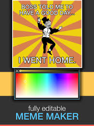 Meme Poster Maker - meme moji creator memes generator poster maker apps 148apps