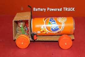 how to make a battery powered truck easy youtube