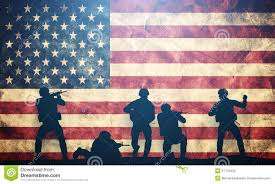 Us Flags Com Soldiers In Assault On Usa Flag American Army Military Stock
