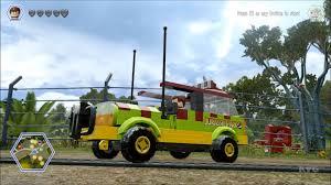 jurassic park tour car lego jurassic world all 35 vehicles in action free roam