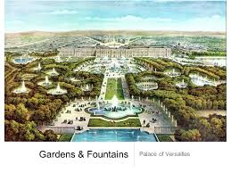 Versailles Garden Map Palace Of Versailles A Photo Tour Of Absolutism Back Of The