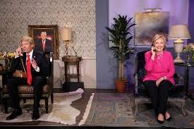 jimmy fallon interviews hillary clinton as donald trump msnbc