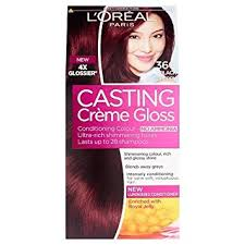 brown cherry hair color l oreal casting crème gloss black cherry shade 360 hair colour