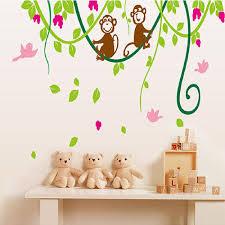 aliexpress com buy 110cm 130cm monkey flower vine removable art aeproduct getsubject