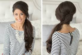 hair styles in two ponies retro side pony tail youtube