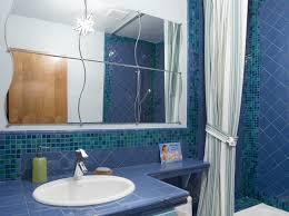 blue bathroom paint ideas bathroom blue bathroom color with blue tiled wall a cool