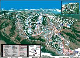 Utah Ski Resort Map by Steamboat Springs Trail Map Steamboat Springs Co Skiing