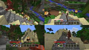 Minecraft Pvp Maps Minecraft Adds New Pvp Multiplayer Mode Gamespot