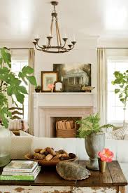 Southern Country Home Decor by 25 Cozy Ideas For Fireplace Mantels Southern Living