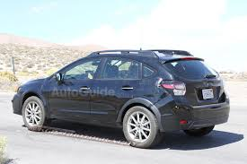 blue subaru crosstrek 2018 subaru crosstrek xv turbo release date spy photo price news
