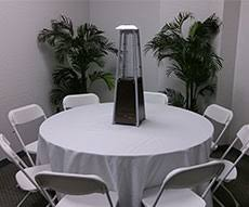 Patio Heaters For Rent by Patio Heater Rental Rent Patio Heaters White Knight Party Rentals