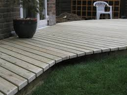 composite landscape timbers home decking ideas curved deck in berden