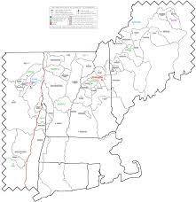 Mail Map Northeastern United States 2 000 Foot Prominence Completion Maps