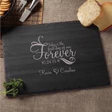 personalized cheese board today is the day of our forever personalized slate cheese