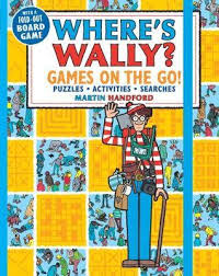 where s booktopia where s wally games on the go puzzles activities