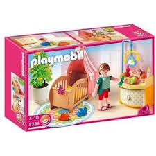 chambre bébé playmobil playmobil 5334 chambre de bébé avec berceau playmobil achat