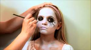 halloween make up zombie ghost tutorial youtube