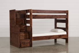 Hardwood Bunk Bed Bedroom Bedroom Wooden Bunk Beds With Steps Wood Loft Bed Desk