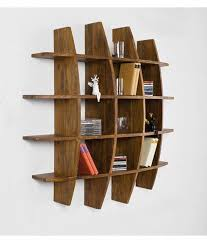 wood decor sheesham wood wall hanging bookcase buy wood