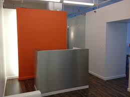 Orange Accent Wall by Jorge Mastropietro Atelier Jma U0027s New Office