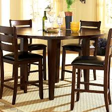 Chair Modern Bar Height Dining Table With  Chairs Counter Furn - Bar height dining table with 8 chairs