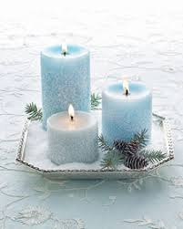 Winter Wedding Decorations Diy Diy Project Frosted Candles Perfect For Winter Wedding