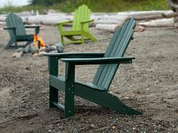 Green Plastic Outdoor Chairs Long Island Recycled Plastic Adirondack Chair
