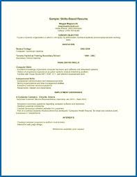 skill resume template resume exles with skills section embersky me