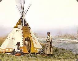 these century old color photos bring native american history to