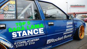 kereta bmw biru legasi proton saga lama stance top 5 compilation 2016 youtube
