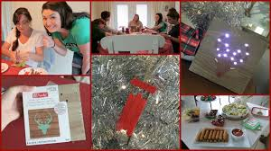 ladies christmas in july craft night youtube