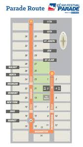 Map Of Downtown Indianapolis Traffic Plan Released For Parade And Race This Weekend Fox59