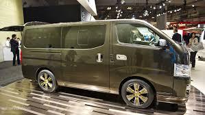 nissan urvan 2013 tokyo 2011 nissan nv350 caravan live photos autoevolution