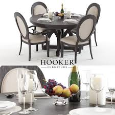 hooker corsica 2 dining table u0026 chairs