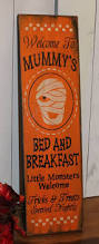 mummy u0027s bed and breakfast sign halloween halloween party sign