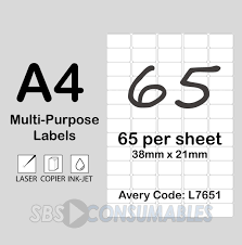 Label Printing Template 21 Per Sheet by Printable White Sticky Address Labels Office Supplies Uk