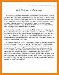 Statement Of Purpose Resume Graduate Statement Of Purpose Example Statement Of Purpose