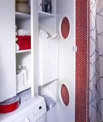 Bathroom Cabinet With Laundry Bin by Tall Bathroom Cabinet With Laundry Basket 400mm Wide White Ebay Tall