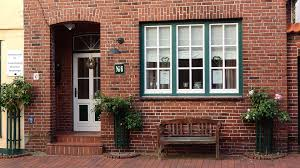 free photo brick house window door bench free image on