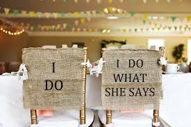 wedding chair signs and groom chair signs 42 handmade wedding ideas