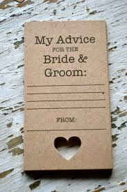 Advice Cards For Bride Guestbook Alternative Https Www Com Listing 171083661