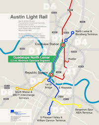 Austin City Limits Map by Mayor Adler Now Is Not The Right Time For Light Rail Kut
