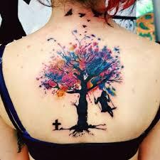 55 tree designs watercolor tree tattoos watercolor trees