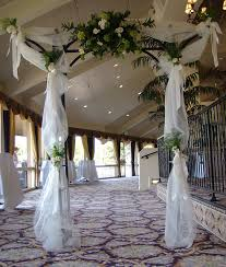 wedding arches decor indoor wedding arch decorations tulle covered wedding arches