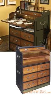 secretaire bureau meuble pas cher bureau secrétaire marine en bois mf063