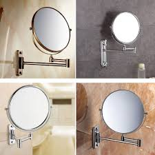 details about wall mounted bathroom folding extending arm makeup