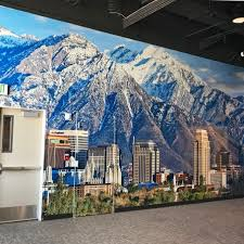 wall mural decals outdoor advertising banners ferrari color there are numerous possibilities of the types of wall murals you can implement to turn your current bare walls into the most visually appealing walls your